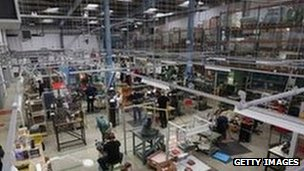 UK industrial output beats market forecasts