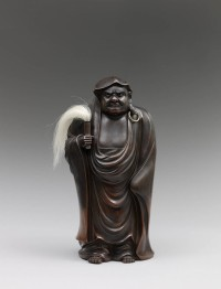 Video: Bizen pottery sculpture of Daruma by Mimura T?kei Max Rutherston Ltd – Asian Art and Japanese Antiques